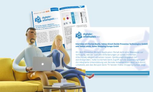 Provectus Modern Workplace: Sicherheit & Komfort unter einem Hut