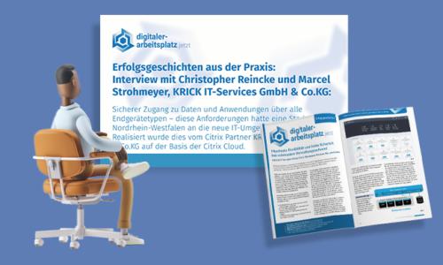 Cloud-basierte Workspace-Infrastruktur für nordrhein-westfälische Stadt