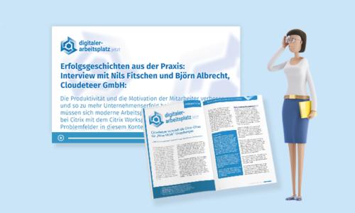"""Citrix Cloud improved by Cloudeteer"" bringt Flexibilität & Zukunftssicherheit"